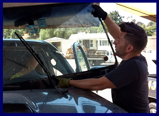 windshield replacement